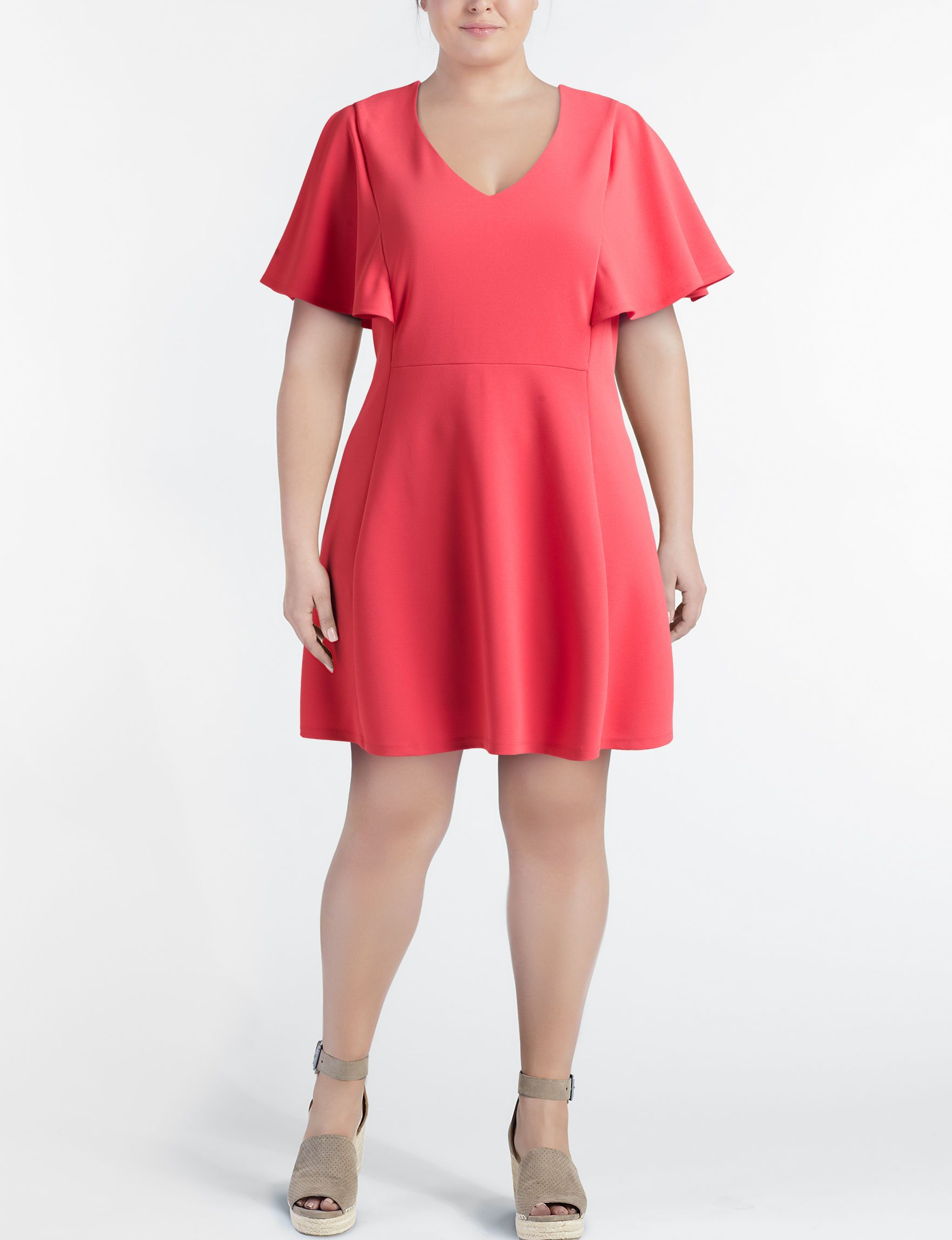 Ronni nicole coral everyday casual aline dresses