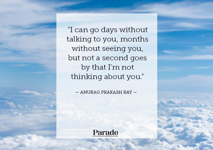 50 'Thinking of You' Quotes That Will Brighten Up Someone