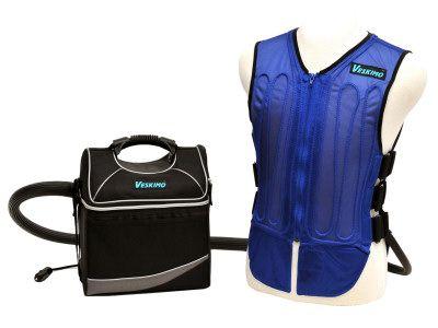 Cooling Vest 9 Qt Cooler Complete Personal Cooling System