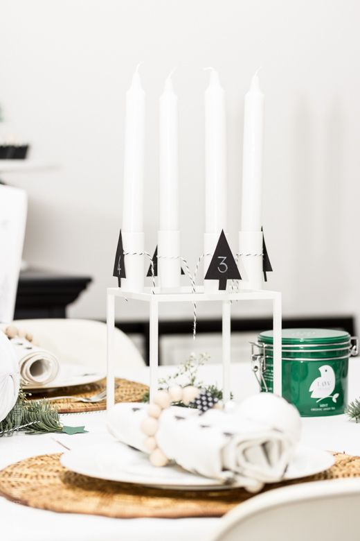By lassen Kubus for advent candles