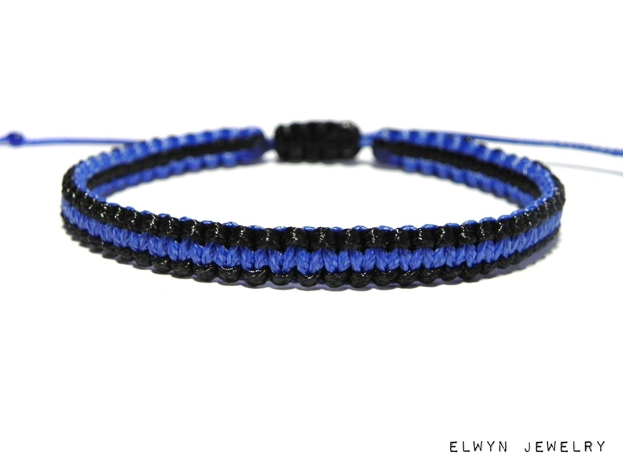 product thin blue bracelet copy braclet tbl paracord line pc