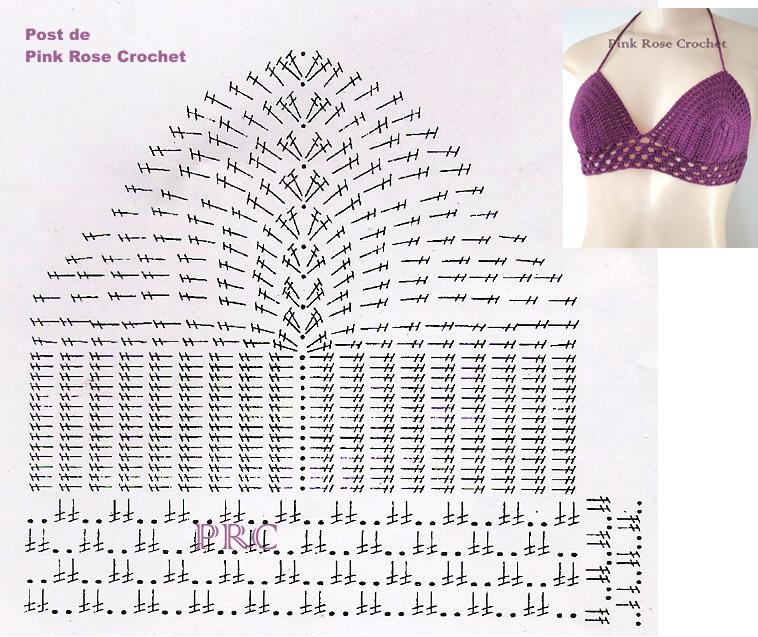Top+Anne+Croche+Gráfico.png (758×637) | Crochet Pattern | Pinterest ...
