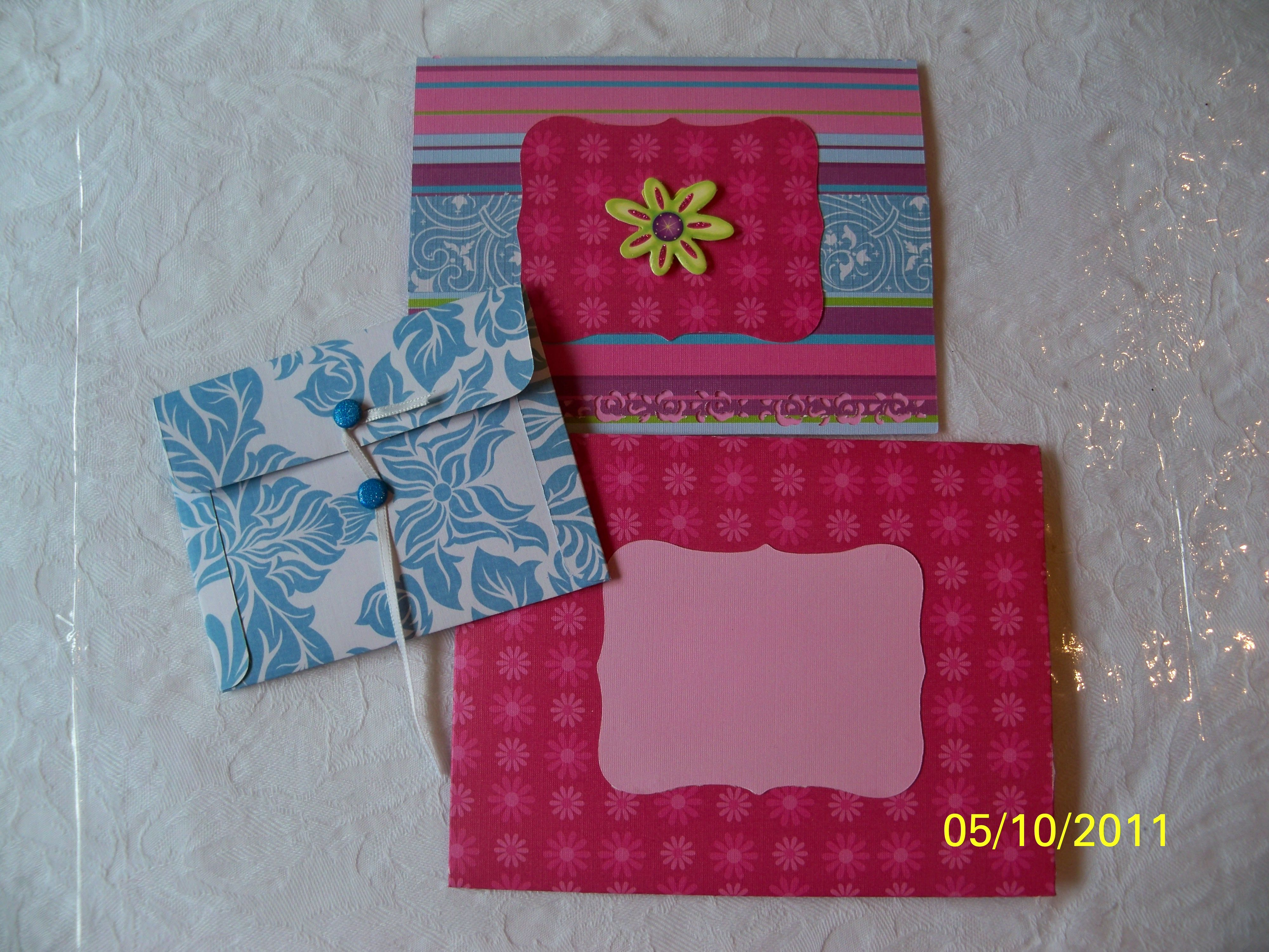 Cricut card envelope and gift card holder gift card