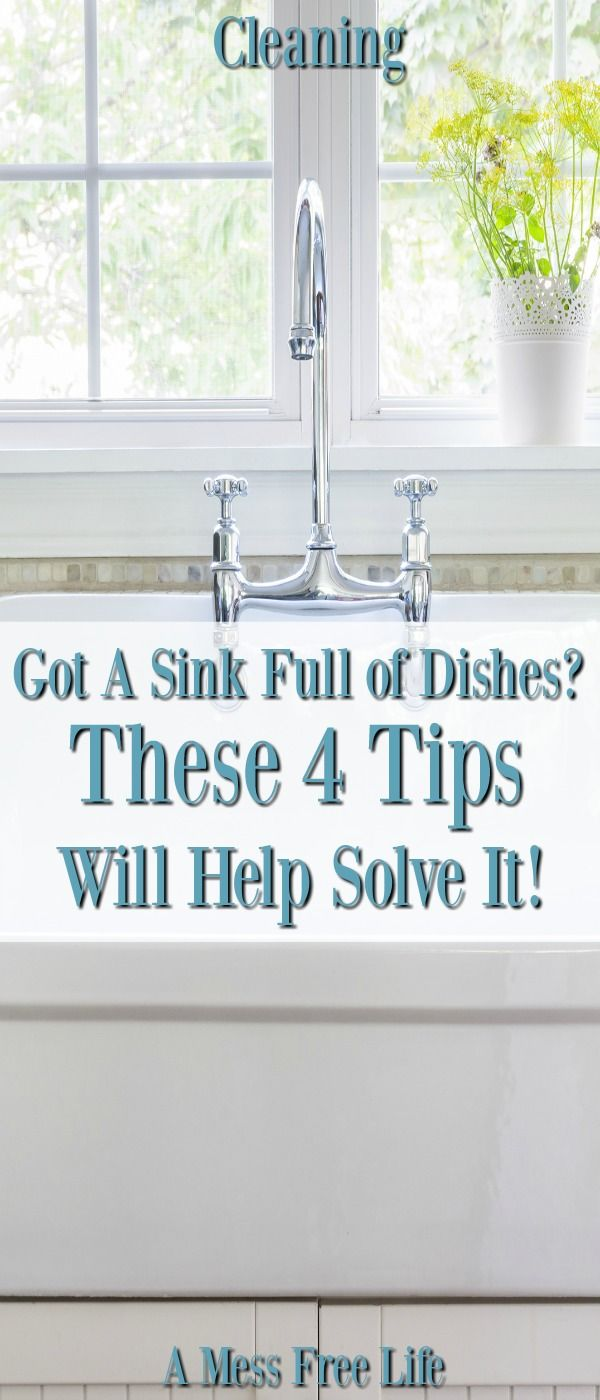 The Secret To Manage The Dishes | Sinks, Dishes and Cleaning