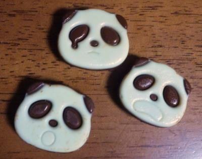 don t eat me panda chocolate
