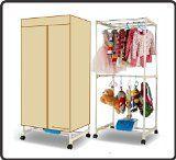 #10: EasyGo Wardrobe Dryer - Energy Saving Electric Lightweight Portable Clothes Dryer - 1000 Watt Ceramic Heater - Comp