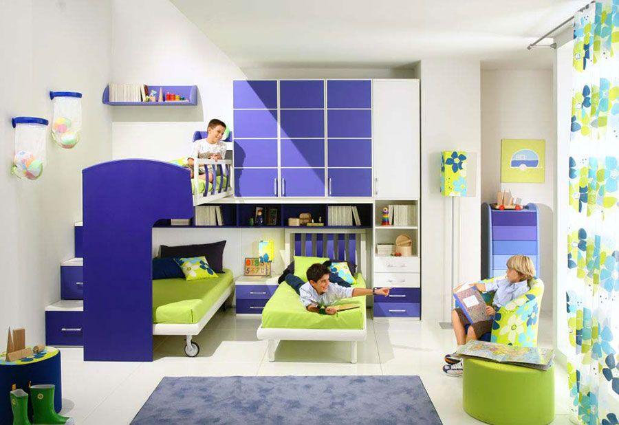 Camerette 3 Letti Bambini.Camerette Per Bambini Con 3 Letti 25 Idee Di Arredo