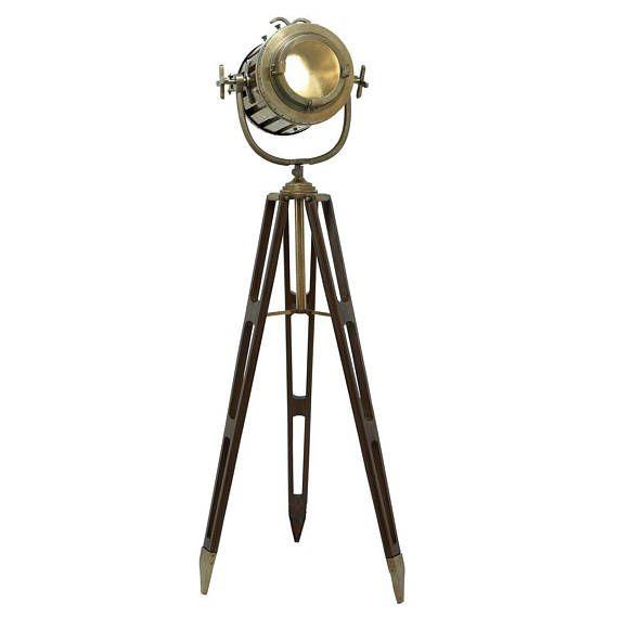 Hollywood Studio Director S Spotlight Tripod Floor Lamp With