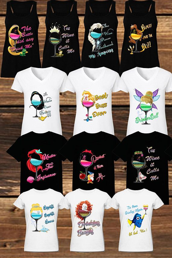e13a1b1899 Disney Drinking Shirt Drunkest of Them All T-Shirt Food and Wine Shirt  Disney Shirt Epcot Food and W