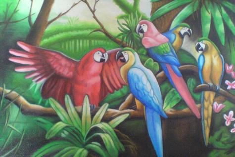24+ Gambar Pemandangan Flora Fauna Dan Alam Benda di 2020 | Seni ...