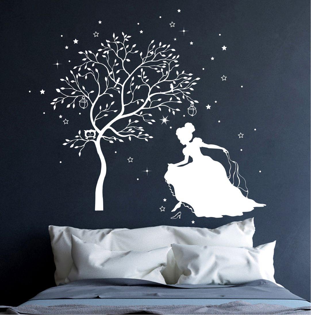 Außergewöhnlich Wandtattoo Bäume Beste Wahl Cinderella, Wall Hanging Decor, Princesses, Tree Wall