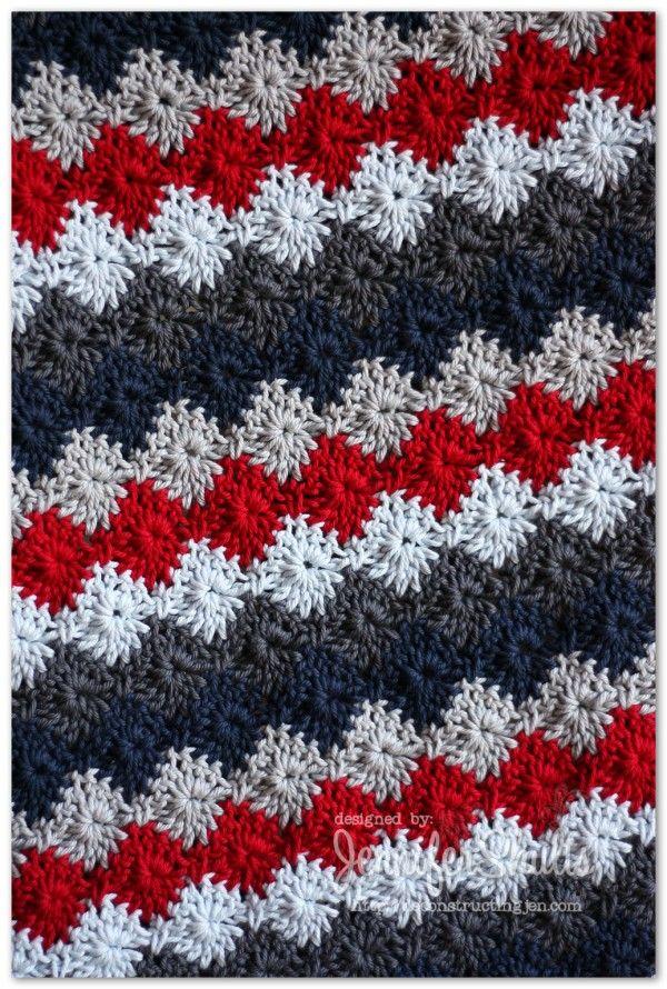 Harlequin Crochet Baby Blanket Crochet Patterns And Ideas