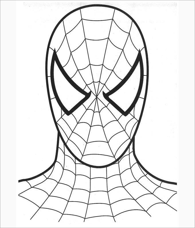30 Spiderman Colouring Pages Printable Colouring Pages Spiderman Coloring Spiderman Face Free Coloring Pages