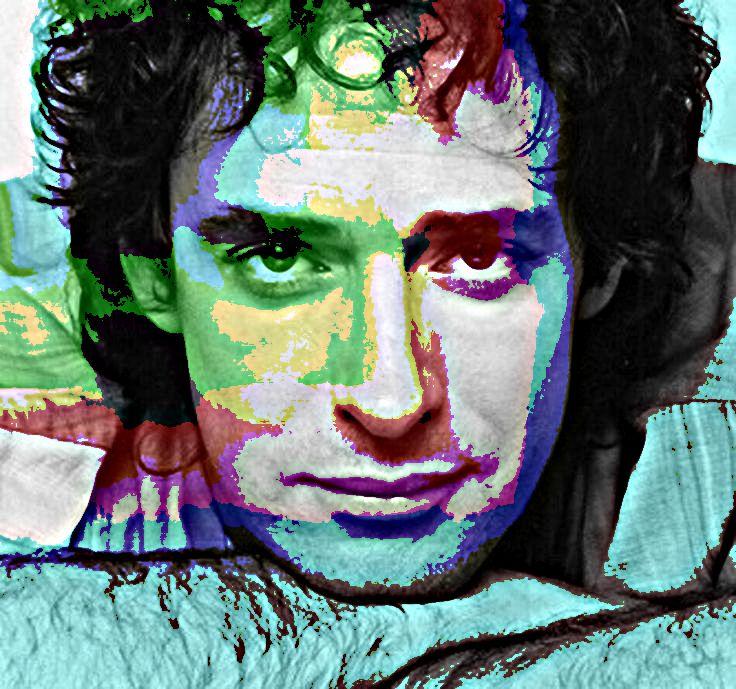 Gustavo Adrian Cerati Cantante Argentino De La Banda De Rock Soda Stereo Arte Picture Music Musica Rock Gustavo Cerati Ilustracion De Arte Pop Ceratti