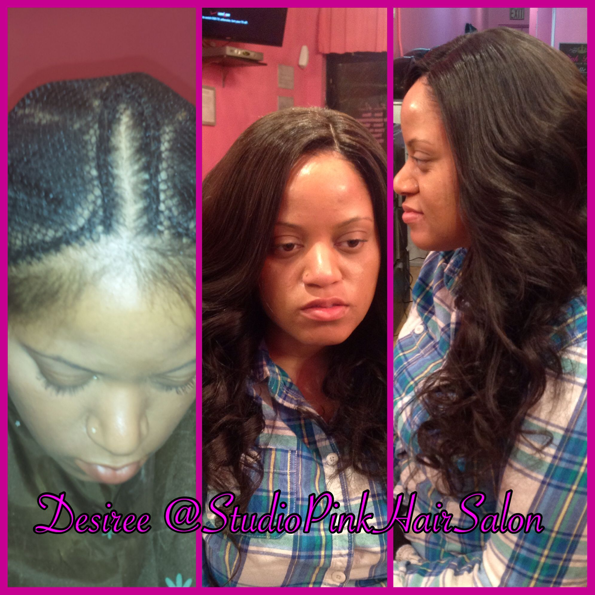 Net Weave Lace Closure Installation Hairstyles By Me Pinterest