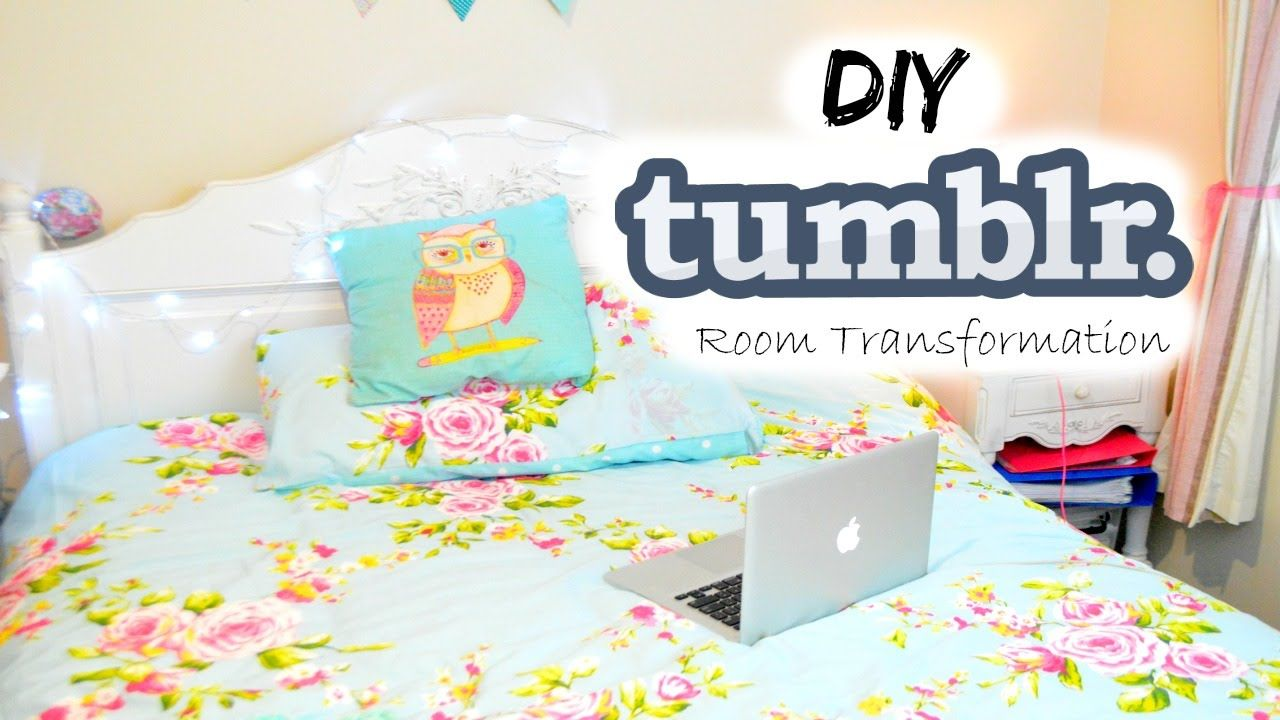 diy tumblr room decor for teens room makeover - Room Decor For Teens