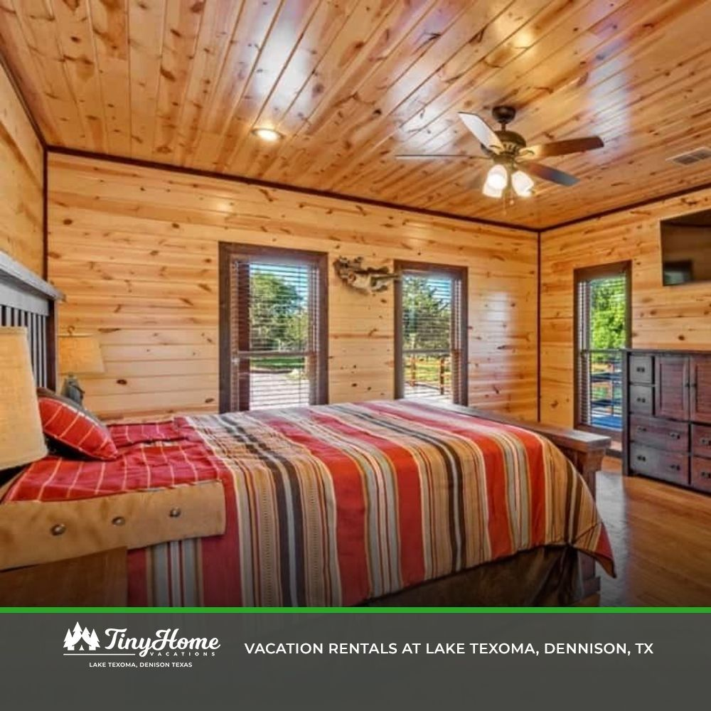 Cabin at lake texoma in 2020 resort style pool vacation