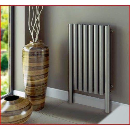 rvs-design-radiator-verwarming-buis-vorm-woonkamer | Calefaccion ...
