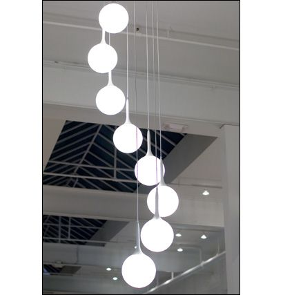 Kronleuchter · Chandelier For Spiral Staircase In Main Foyer
