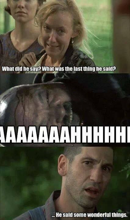 Patricia, Otis and Shane | The Walking Dead funny meme ...