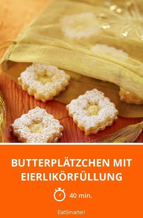 butterpl tzchen mit eierlik rf llung rezept in 2019 kekse pinterest pl tzchen kekse und. Black Bedroom Furniture Sets. Home Design Ideas
