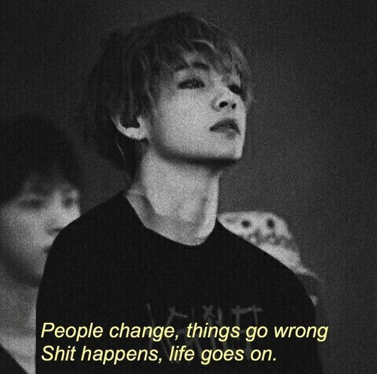 bts quotes Image shared by :: //. Find images and videos about kpop, black and bts on We Heart It - the app to get lost in what you love.