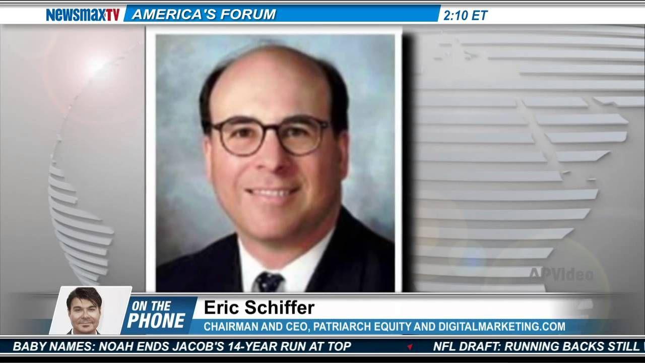 Eric Schiffer, the Chairman and CEO, Patriarch Equity and DigitalMarketi...