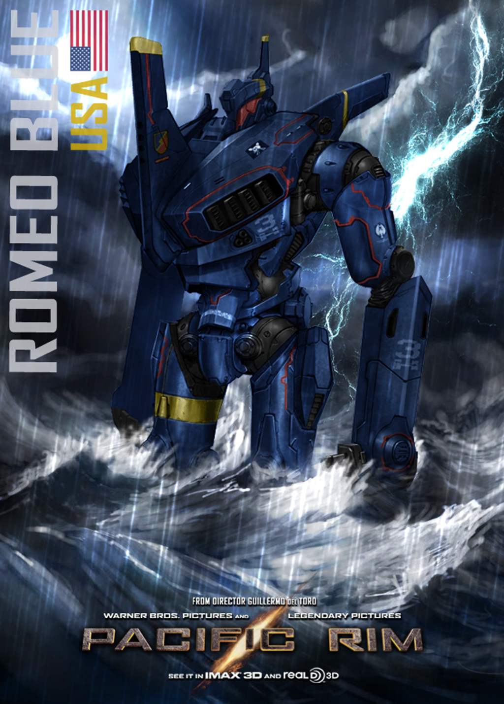 •Pacific Rim - Romeo Blue by minanfranco | Mechs | Pacific ... Pacific Rim Jaeger Romeo Blue