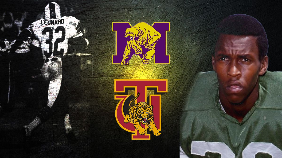 Cecil leonard was a standout at east highland high he