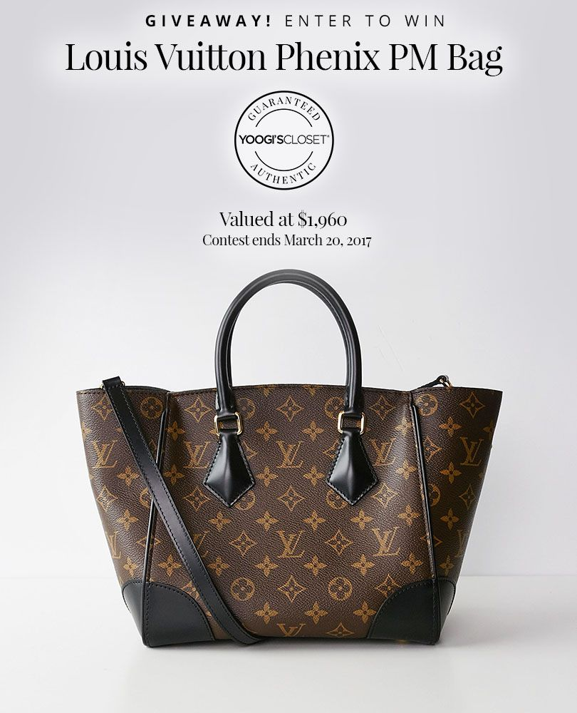Win this Louis Vuitton bag #sweepstakes #giveaway | Pin It To Win ...
