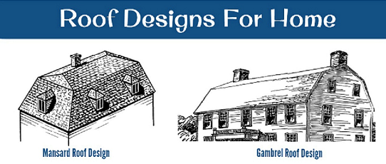 Mansard Vs Gambrel Roof Design Which One Would You Like To Have Roofdesign Mansardroof Gambrelroof French Style Homes Roof Design French Country House