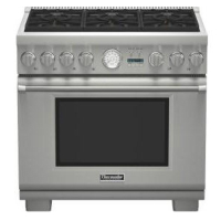 Thermadorpro Grand36 Dual Fuel Convection Range Kitchen Oven