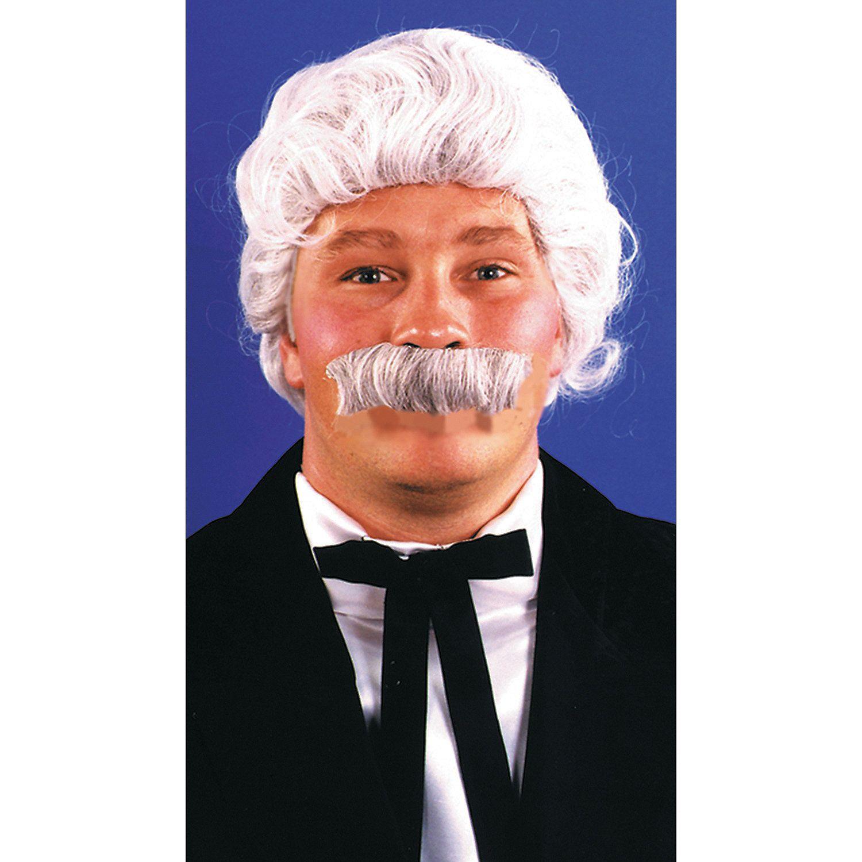 Men/'s Mark Twain Costume Wig