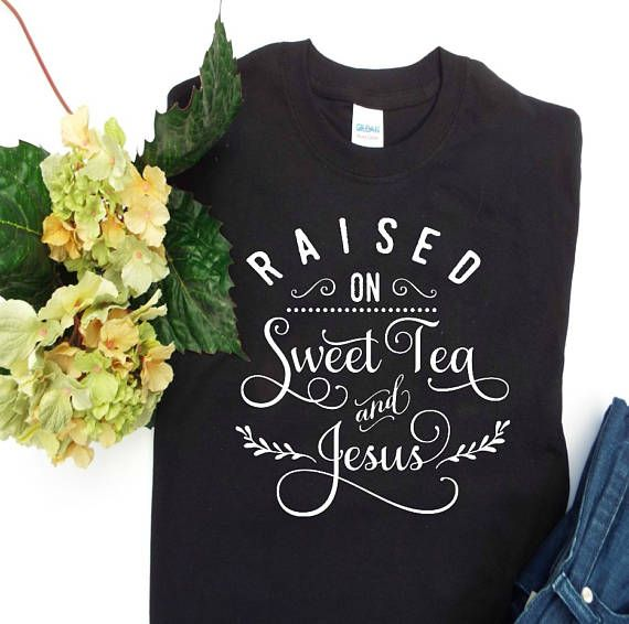 Sweet Tea and Jesus, Christian shirts, Mom shirt, Funny Christian t shirts, Christian gifts, Trendy womens clothing, Trendy gifts, Fun gifts is part of Trendy Clothes Mom - AdalinesCottage Like us on Facebook and follow us on Instagram where you will have exclusive access to new shirt designs, discounts and special offers  Colors may appear slightly different on various devices  Since all designs are made by hand there may be very slight variations from the photos  Thanks for shopping with Adaline's Cottage!