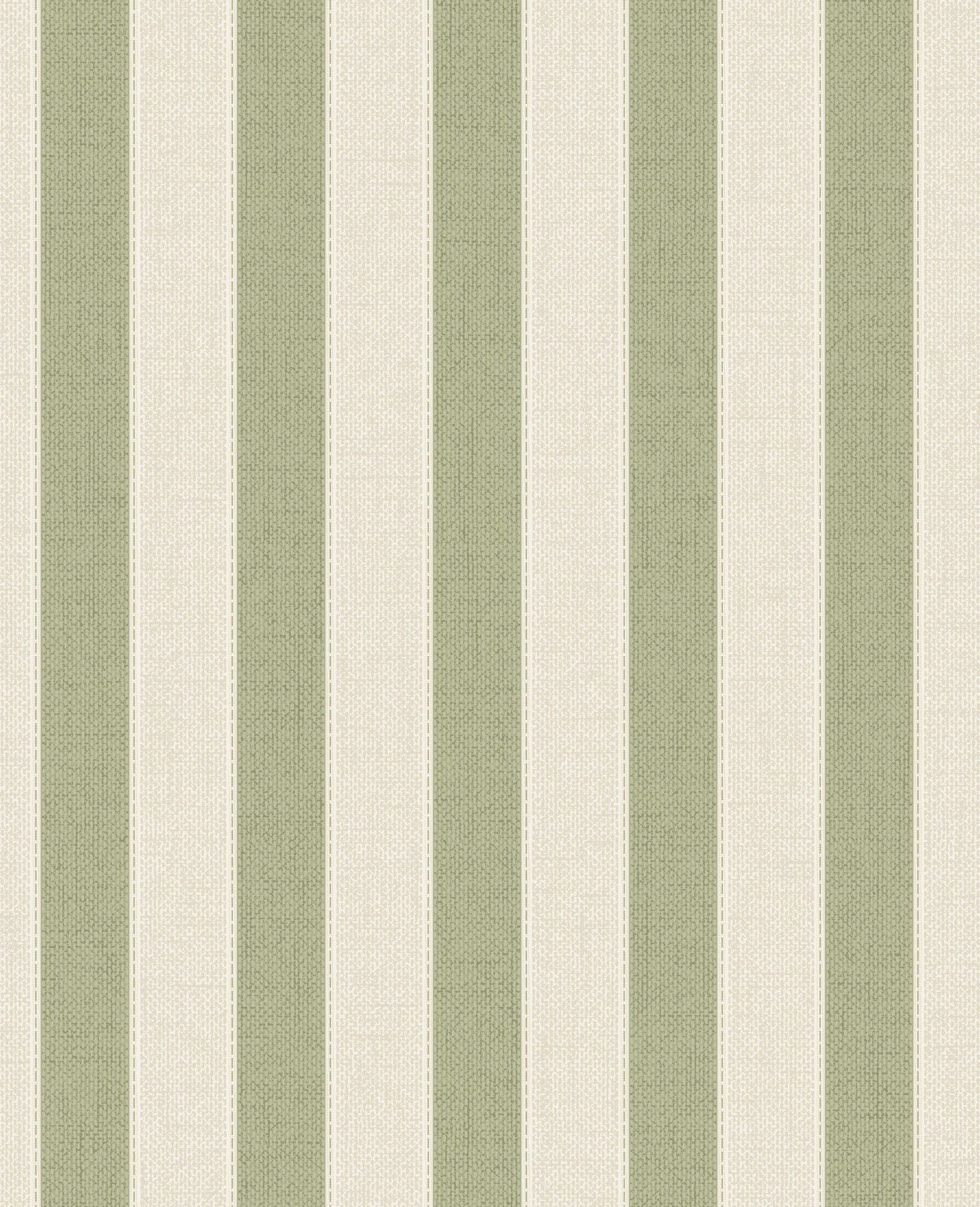 Olevia Ticking 33 X 20 Stripes Wallpaper Pareti A Righe E