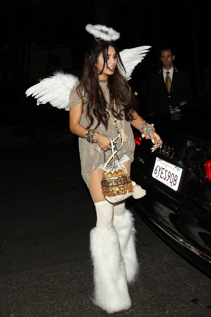 90 Cute Crazy And Creepy Celebrity Halloween Costumes Celebrity Costumes Celebrity Halloween Costumes Vanessa Hudgens Outfits