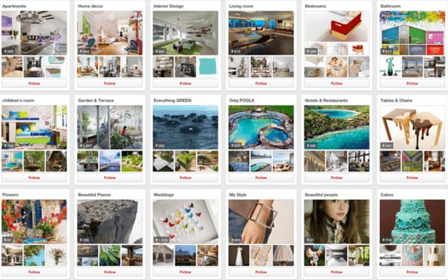 As melhores contas de decoração a seguir no Pinterest