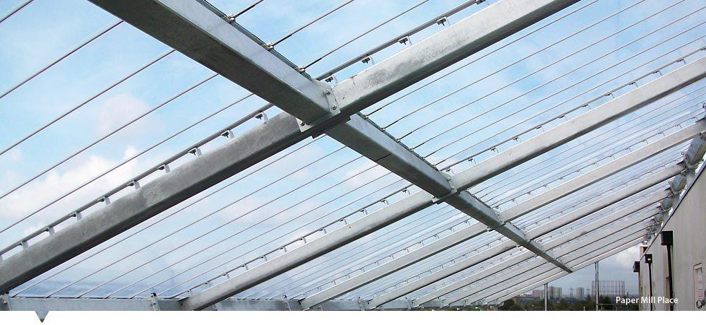 ETFE roof, Single Skin ETFE, Inflated ETFE Cushion - Base Structures ...