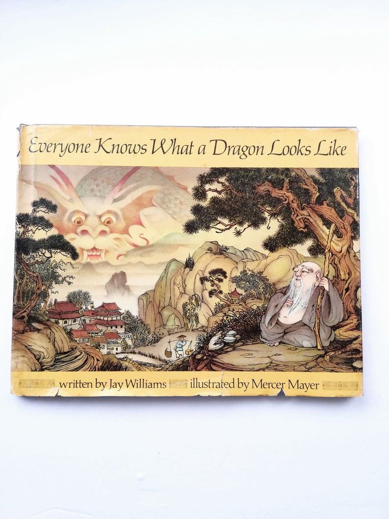 Everyone Knows What A Dragon Looks Like By Jay Williams Etsy Jay Williams Mercer Mayer Dragon