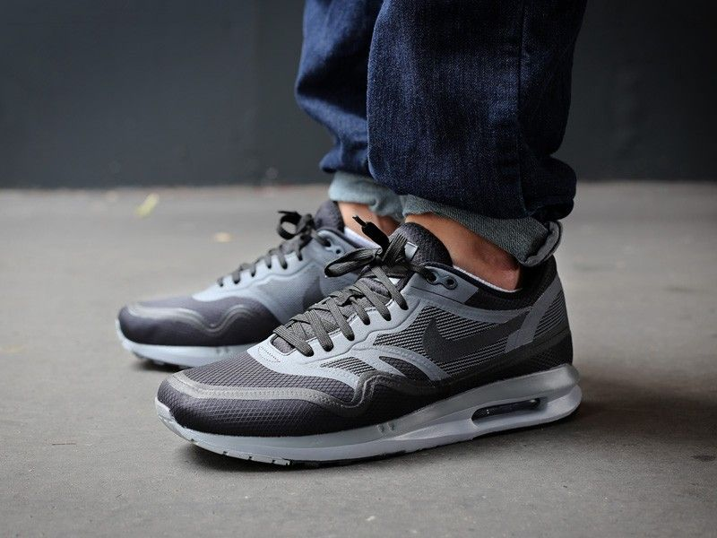 nike air max lunar 1 grey black