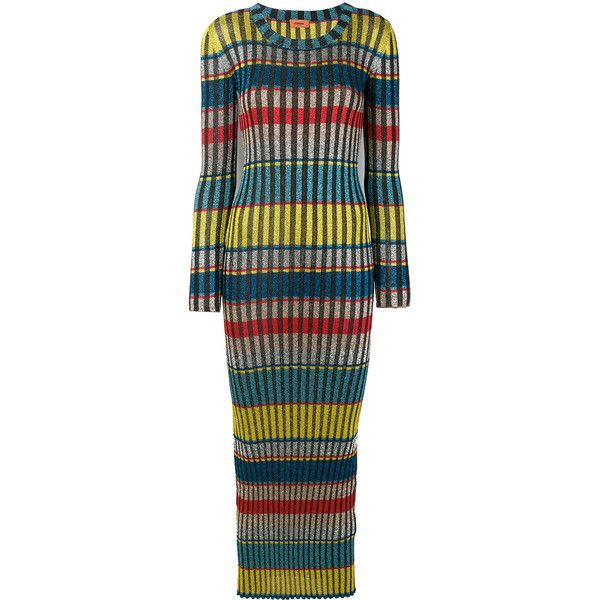 multi-printed fitted dress - Multicolour Missoni KqzEf