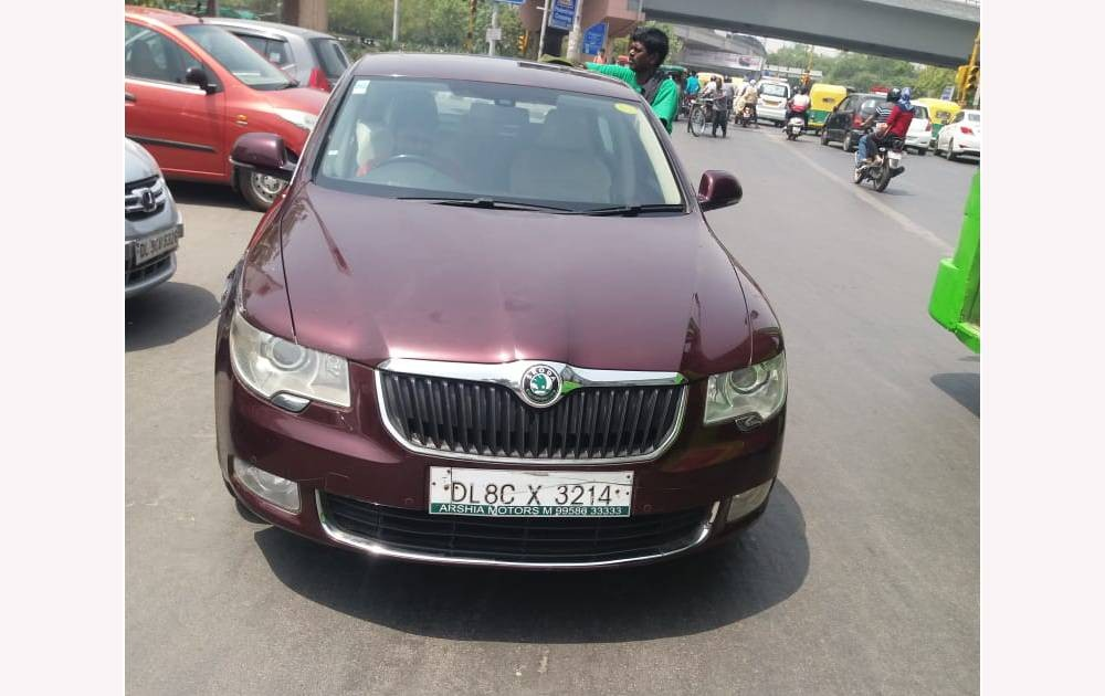 Used Skoda Superb is available at affordable price in