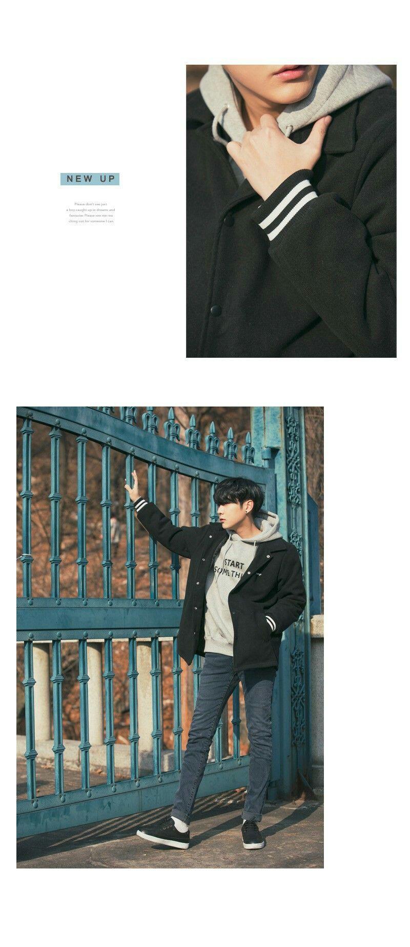 TYPE.B / BLACK 타입B 블랙(모직) / M 사이즈 / 형석피팅 Park hyung seok Cr. Aboki.net