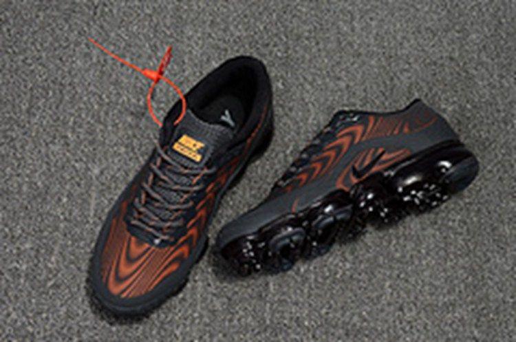 40490a6f73 Comfortable Nike 2018.5 KPU Air Vapor Sports Shoes Men Carbon Grey Orange On  Sale - $ 70.99