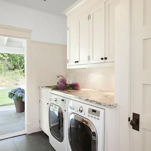 Laundry Room Beadboard, Cottage, laundry room, Jodi Foster