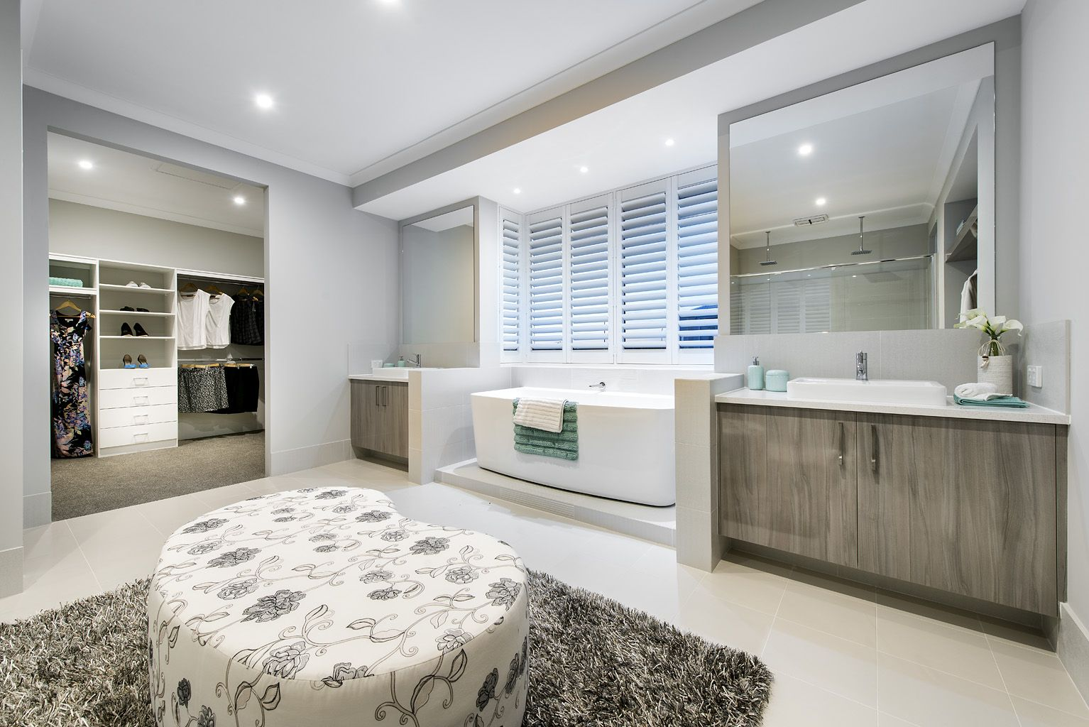 The Ormsby  Ben Trager Homes Perth Display Home Master - Display home interiors