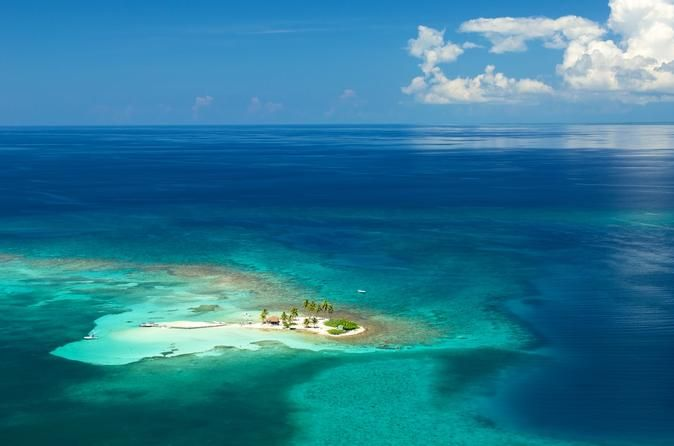 Belize City S Excursion Goff Caye Barrier Reef Snorkeling And Beach Break