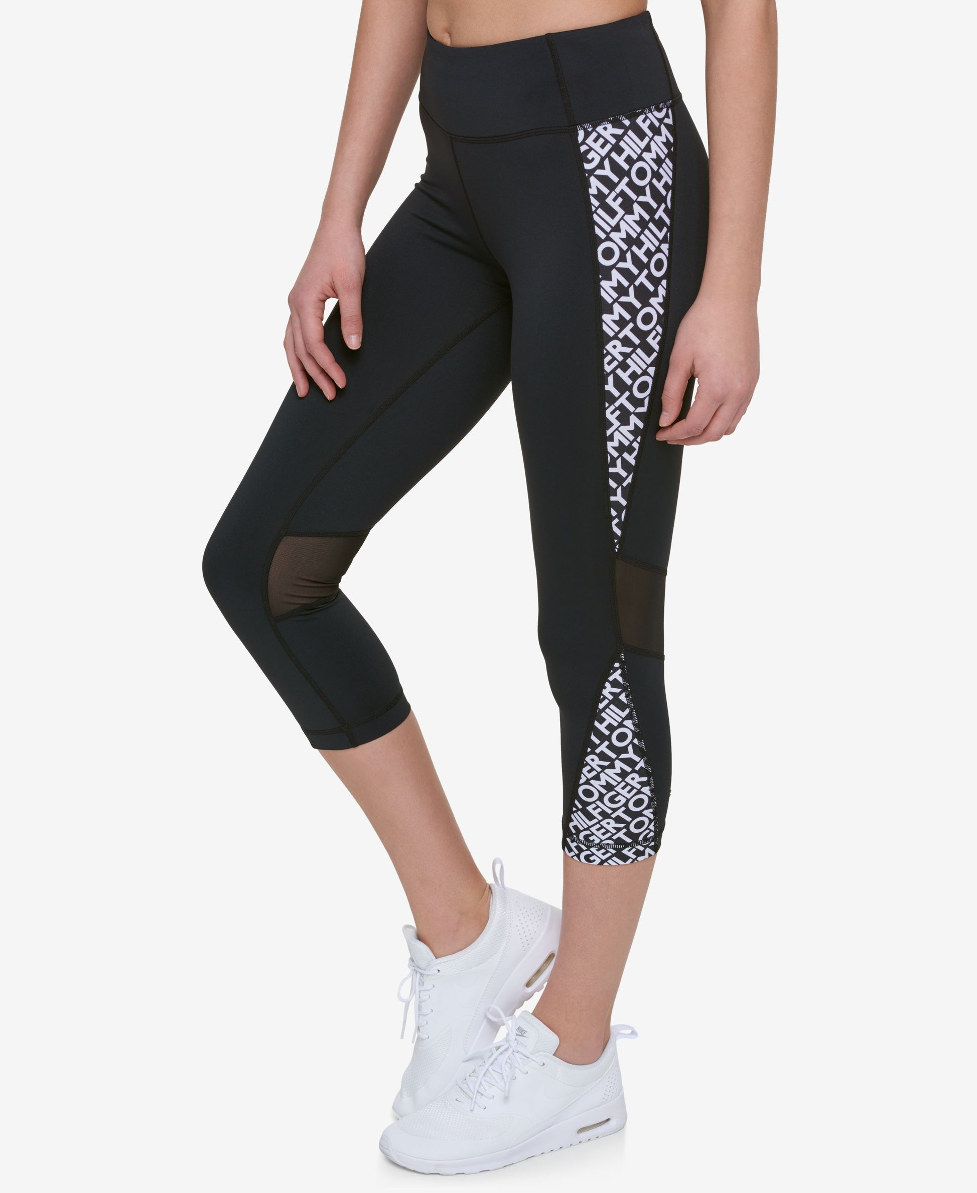 d10b206eb2965 Tommy Hilfiger Sport Colorblocked Skinny Leggings, Only at Macy's ...