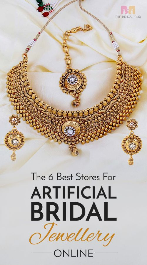 The 6 Best Stores For The Best Artificial Bridal Jewellery Online