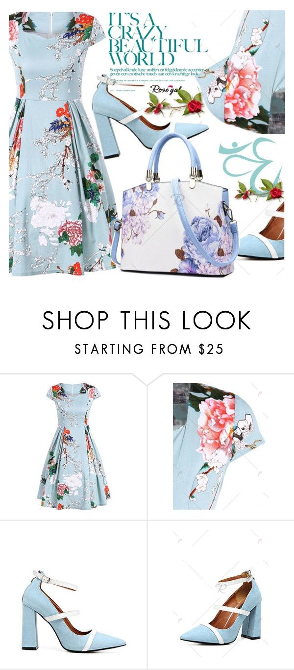 """""""ROSEGAL"""" by selmir ❤ liked on Polyvore featuring vintage, Spring and polyvoreeditorial"""